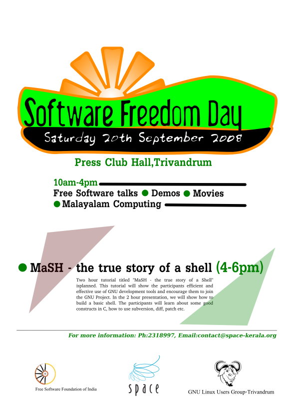 Software Freedom Day 2008